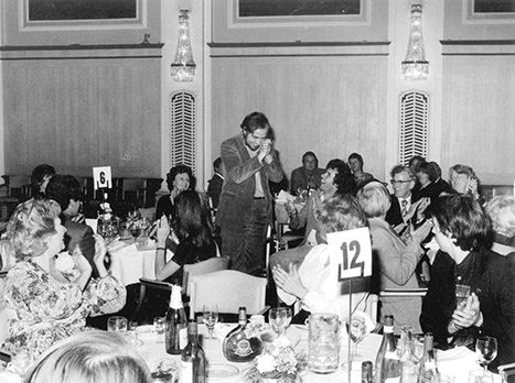 Joe Coomber at the 1980 Gold Badge Awards