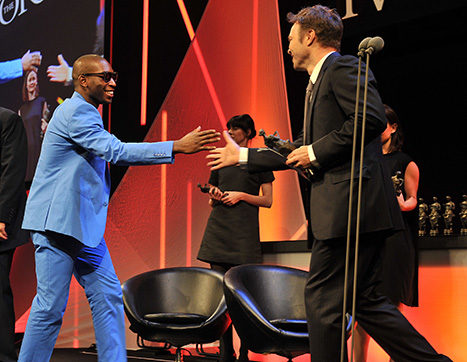 Tine Tempah wins Best Contemporary Song at The Ivors 2011