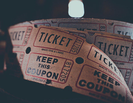 Ticket coupons
