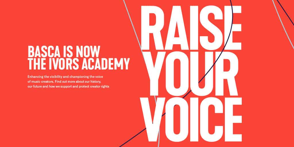 The Ivors Academy | Champions of Music Creators | Home