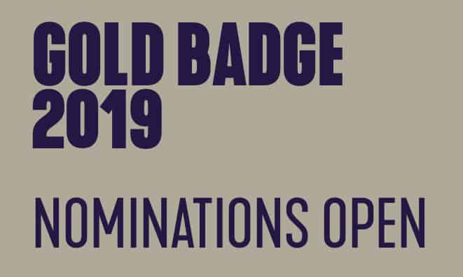 Gold Badge Nominations Open