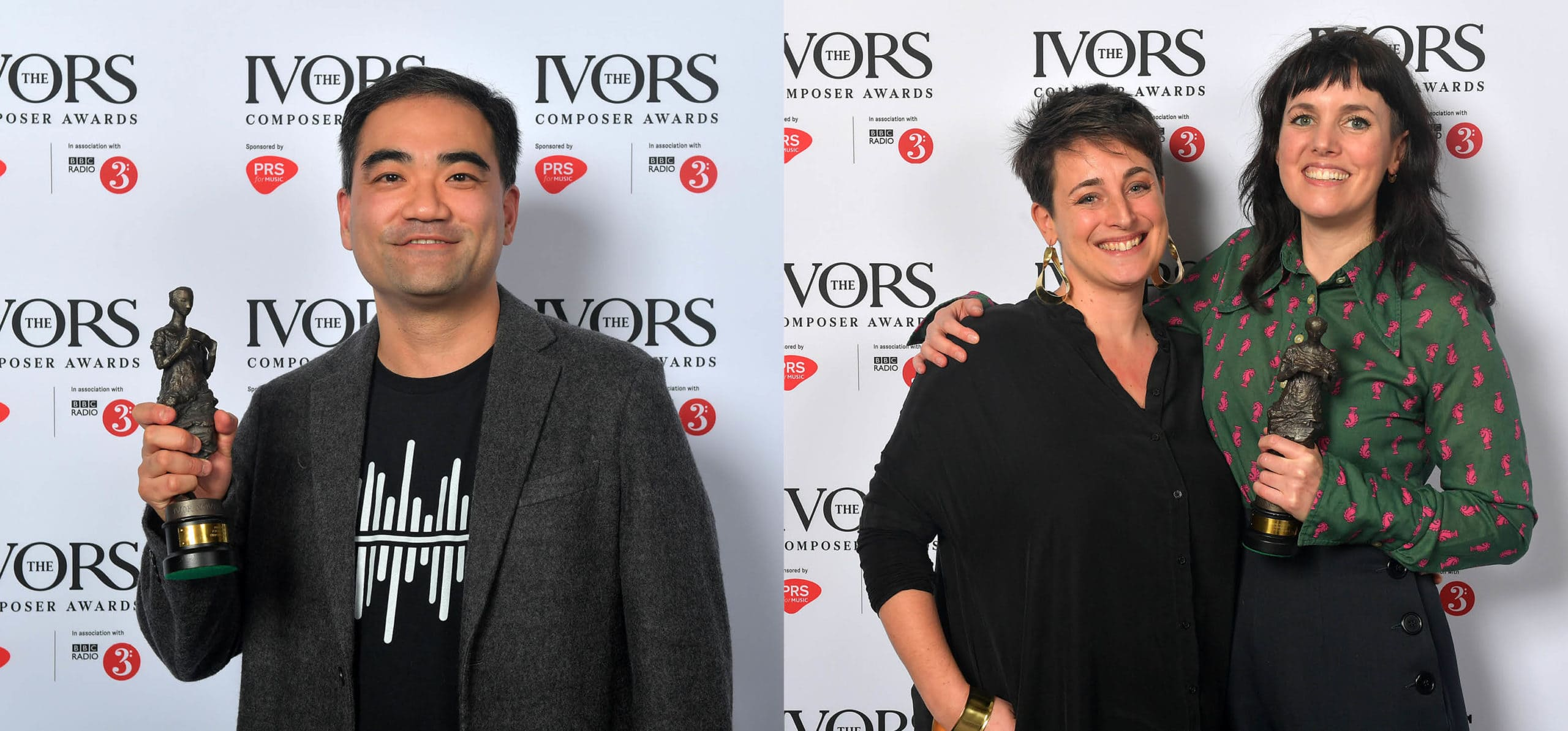 The Ivors Composer Awards 2019, presenting Ivors Novello Awards for the first time in the event's history © Mark Allan