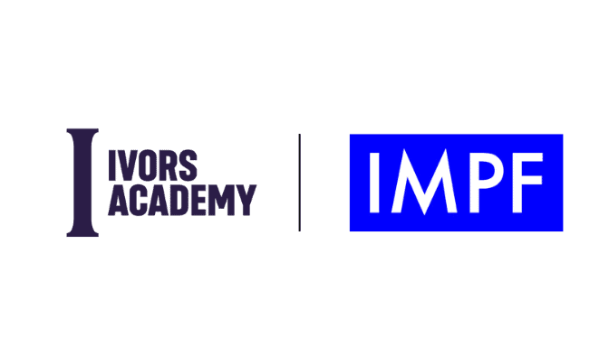 The Ivors Academy and IMPF logos