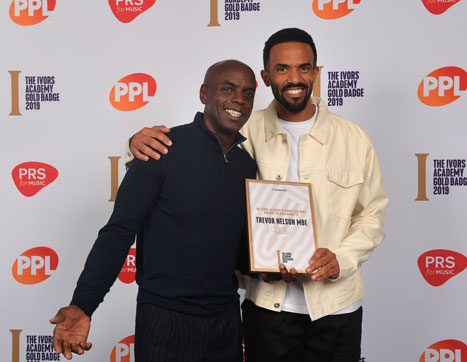 Trevor Nelson with Craig David at The Gold Badge 2019